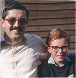 Dad and me, back in the day