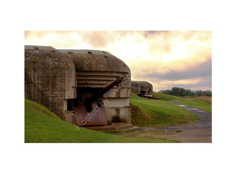 WWII German Battery Longues Sur Mere