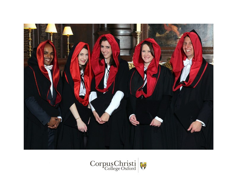 MA Graduates Corpus Christi College Oxford