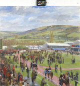 The Parade Ring, Cheltenham Gold Cup