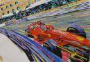 Schumacher @ Monaco (48cm x 32cm)