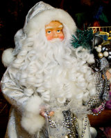 Santa - Antique Shop