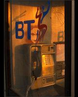 Spooky Phone Box