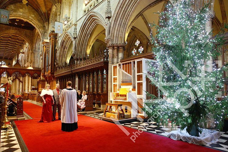 Wedding Vow Renewal at Selby Abbey