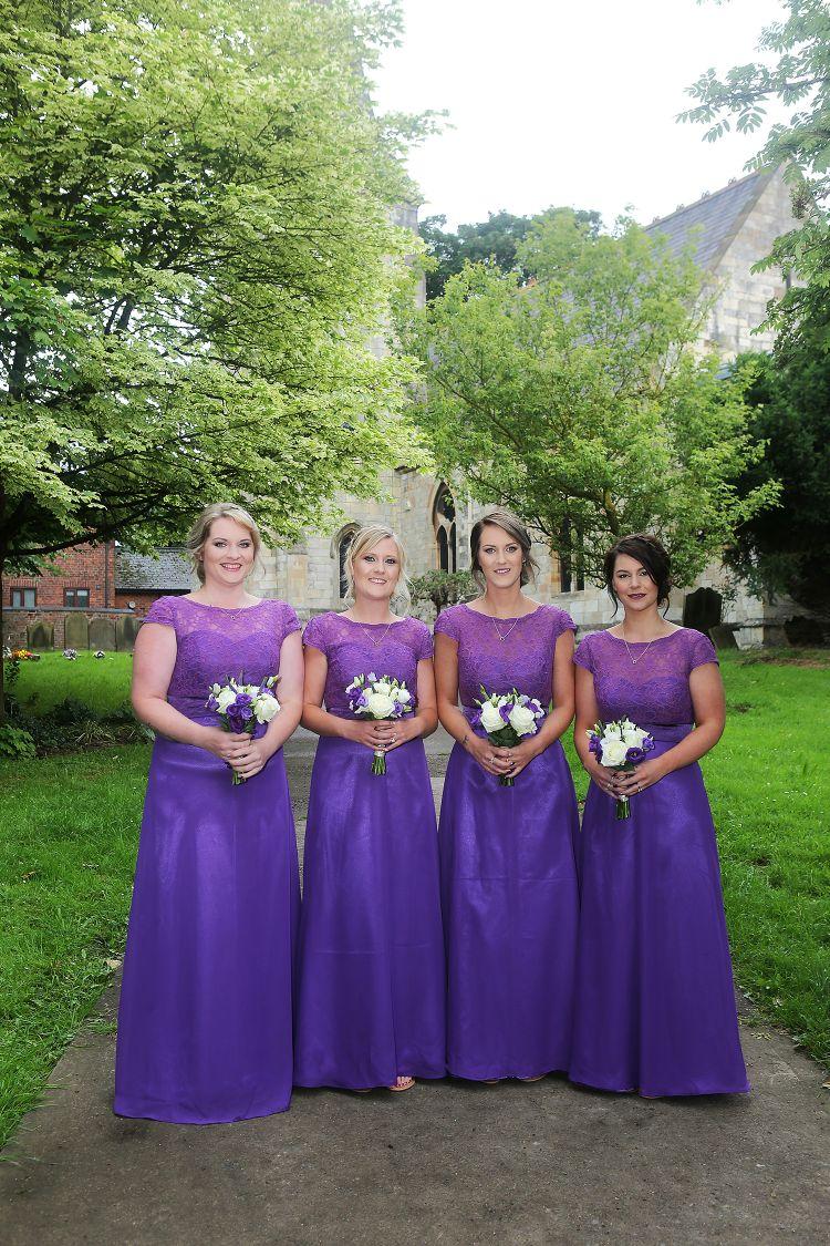 Gorgeous Bridesmaids - All Saints' Church, York