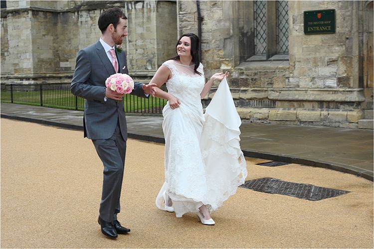 Bridal stroll!