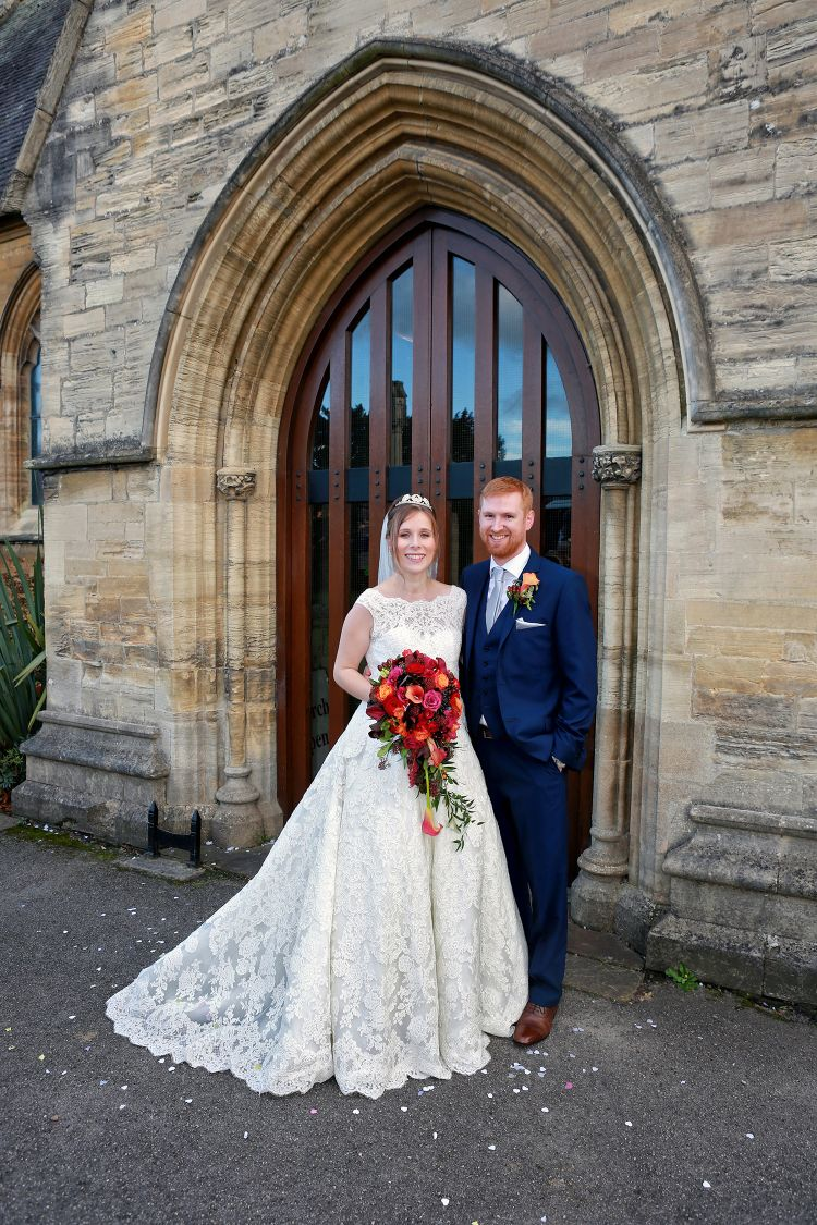 St Edward's the Confessor Church Wedding