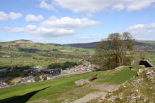 Castleton from the Castle
