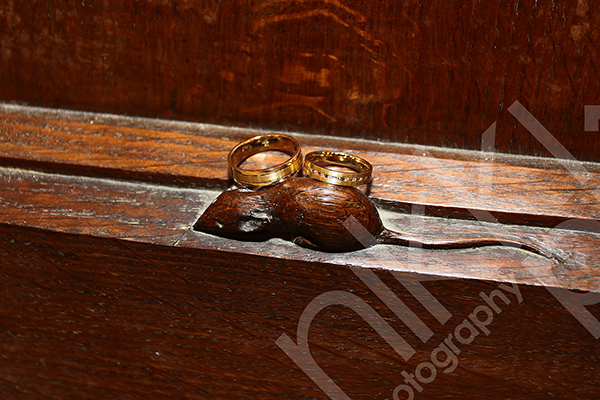 Thompson Mouse Wedding Rings