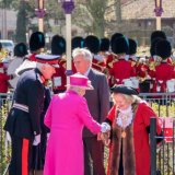 Her Majesty the Queen and The Mayor, Cllr Eileen Quick-0753