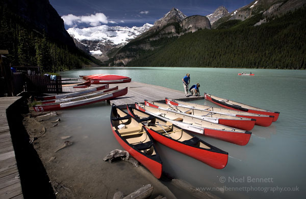 Canoe Trip On Lake Louise