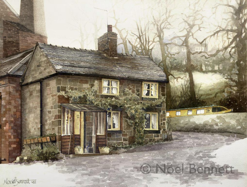 Cheddleton Flint Mill Cottage