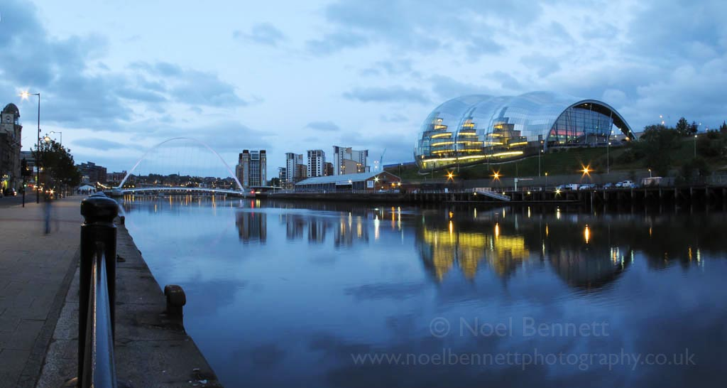 Evening By The Tyne