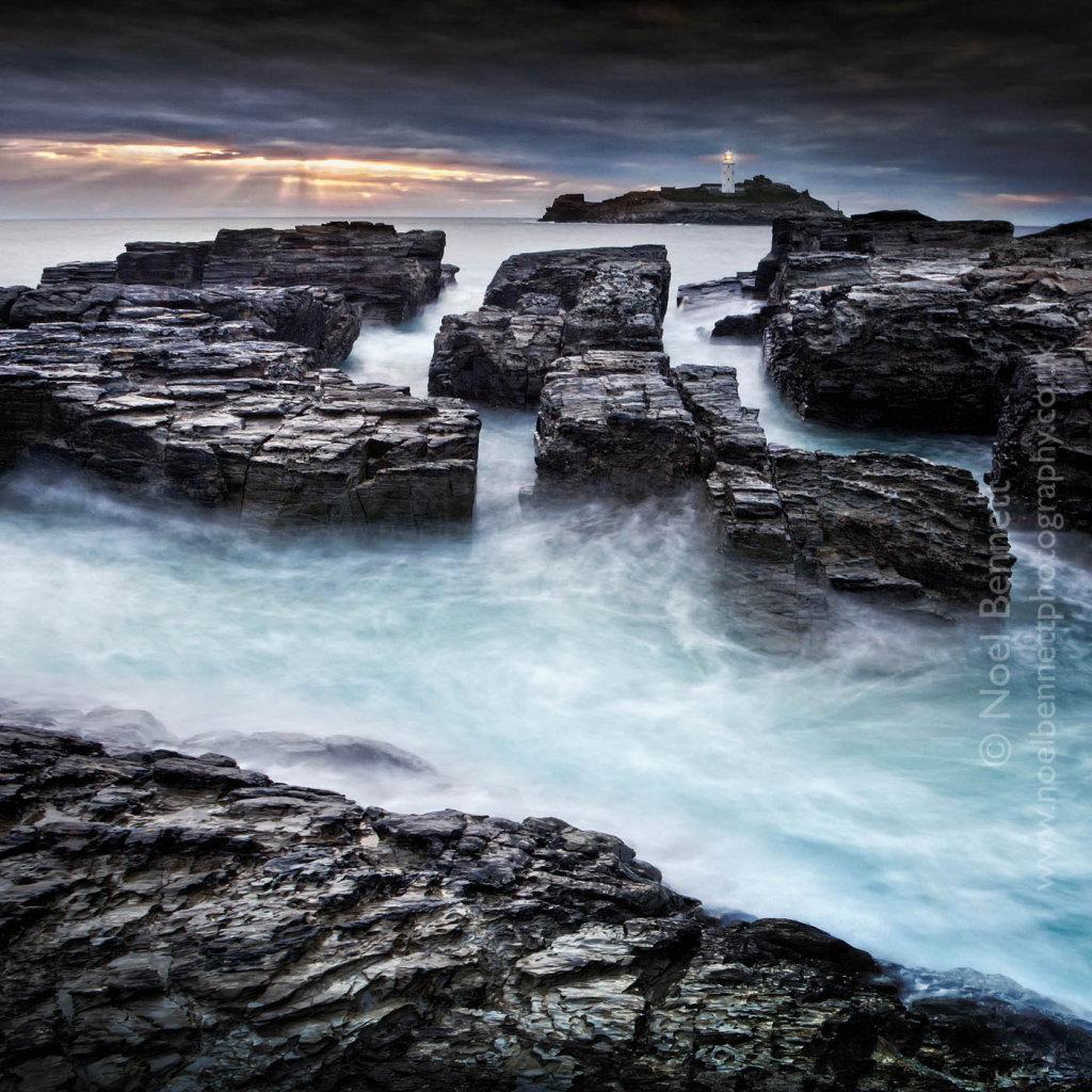 Rocks At Godrevy Point