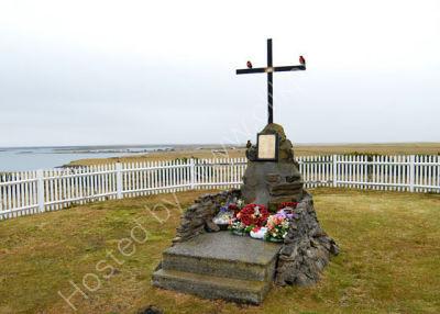 2nd Battalion Parachute Regiment Memorial<br> Near Goose Green 63