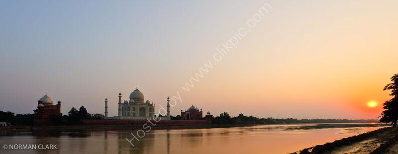 DSC1758-Taj Mahal at Sunset