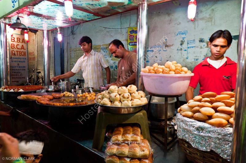 DSC1779 Street Market Food Agra