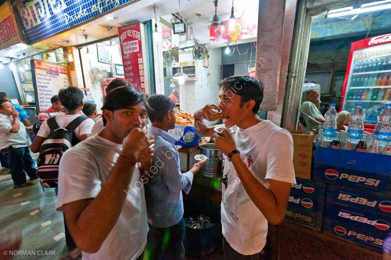 DSC1780 Street Market Food Agra