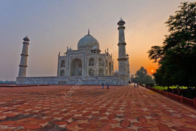 DSC1818 Sunrise-The Taj Mahal