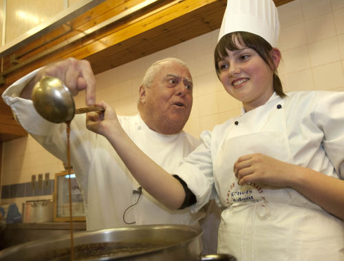 Albert Roux at Charleston Academy