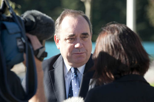 Alex Salmond at Housing Expo