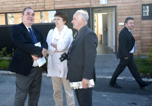 Alex Salmond at Housing Expo