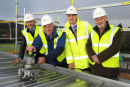 Topping Up Ceremony of Archive Centre, Inverness