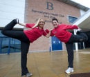 Bannatynes Warm Up for Run for Life Inverness