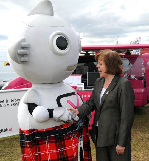 Digital UK at Black Isle Show