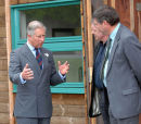 Prince Charles at Opening of Forestry Commission Office, Inverness