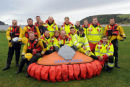 Red Cross launch new hovercraft rescue vehicle at Tain