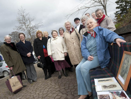 Dedication of Strathpeffer Bench 2