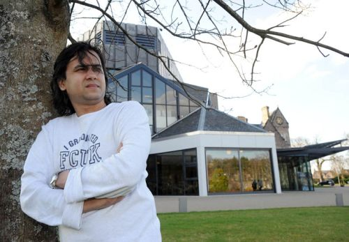Vishal Tandya, Indian Film Producer at Eden Court Theatre, Inverness