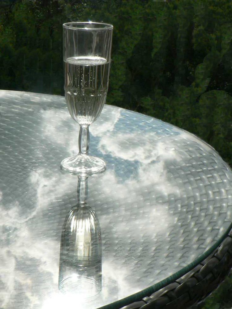 CHAMPAGNE IN THE CLOUDS