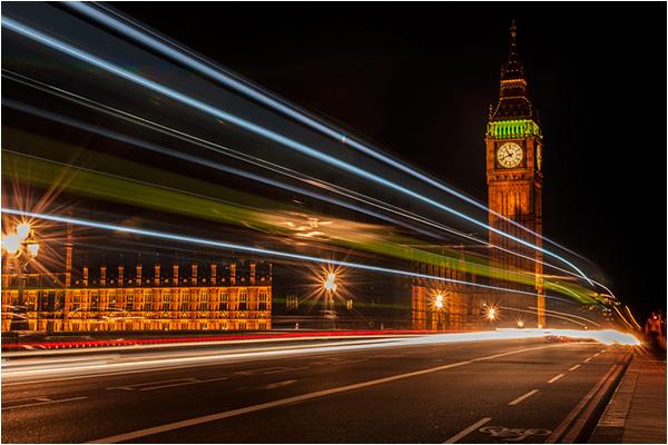 London Bus & Big Ben