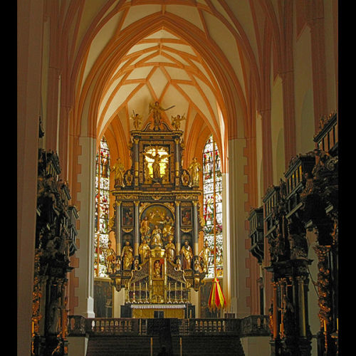 Cathedral at Mondsee