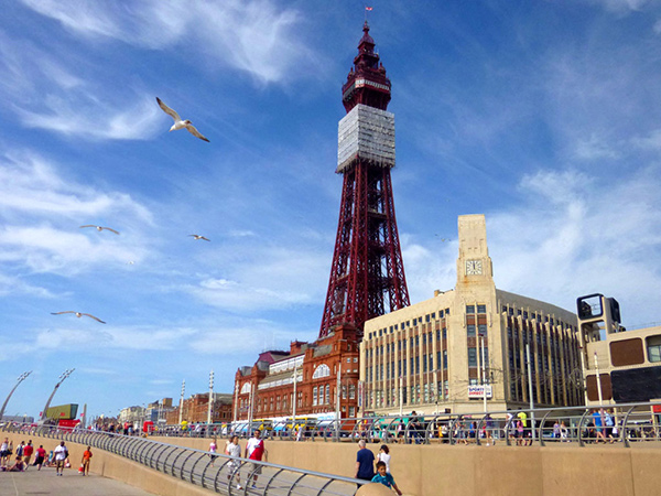 Sunny Day in Blackpool