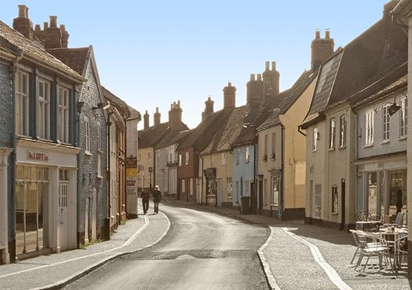 Rural Street View (Wymondham)
