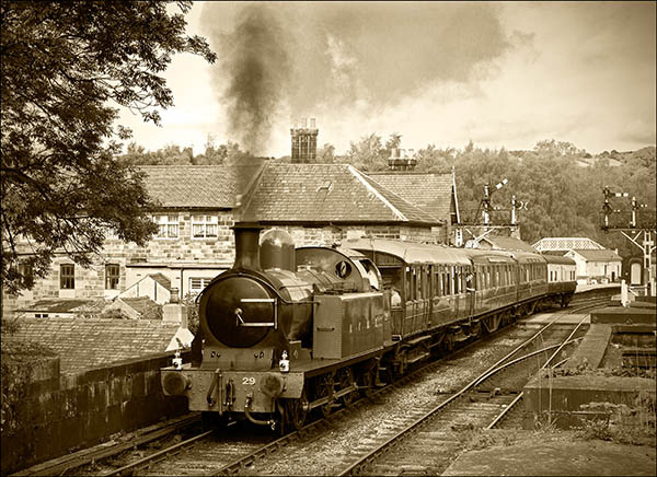 Steaming through Grosmont