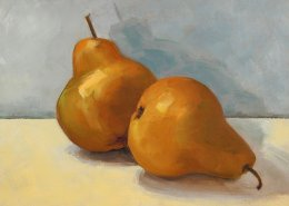 Dazzling Gold Pears