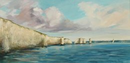 Old Harry's from Swaneage side, Dorset