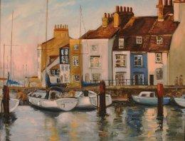Weymouth Harbour- Evening light