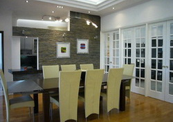 Actual dining room