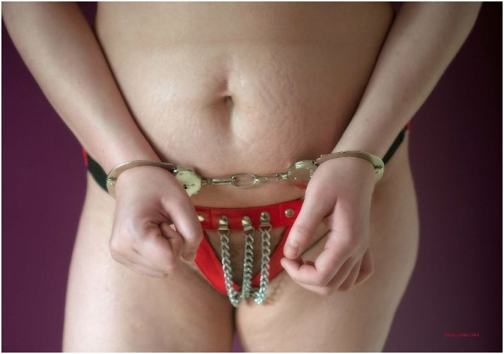 Lucy - Cuffs and chains