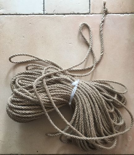 50m of jute rope