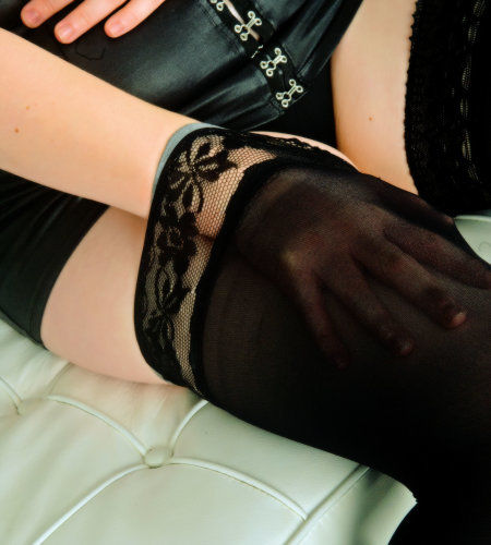 Lucy - Sheer stocking