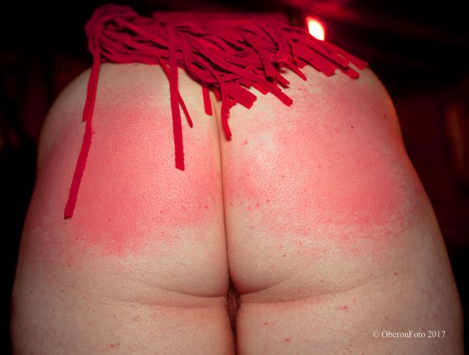 Lucy - Red flogger, red arse