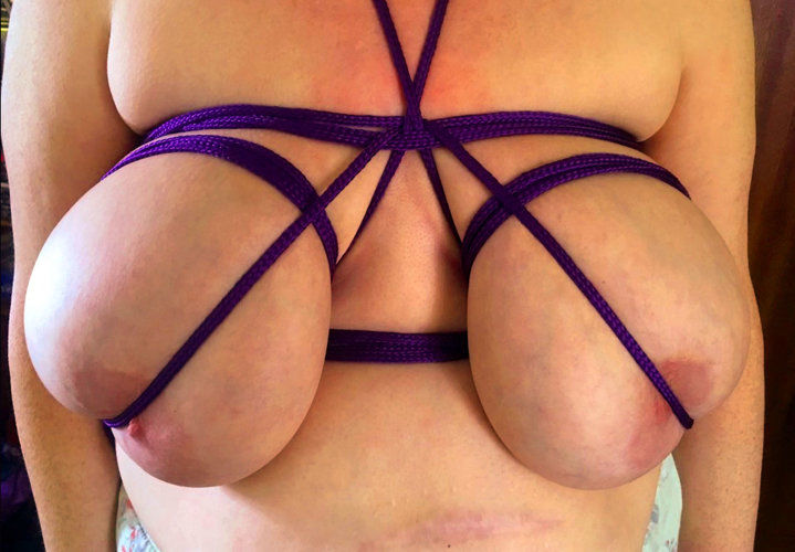 BBW Willow - Purple rope