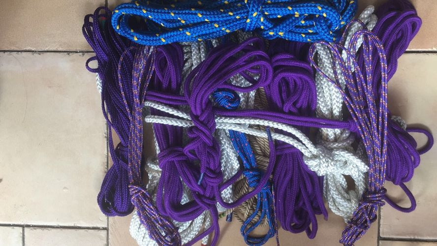 Rope, rope and more rope