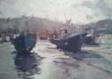 'Fishing Boats, St Ives Harbour'